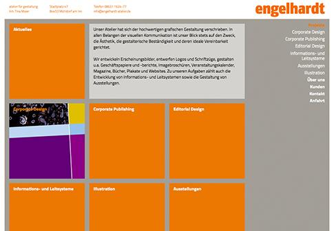 engelhardt atelier Website